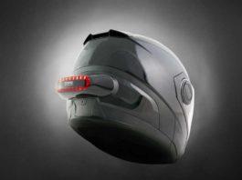 Luz para casco de moto