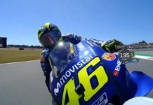 choque de Valentino Rossi a Jorge Lorenzo en Assen